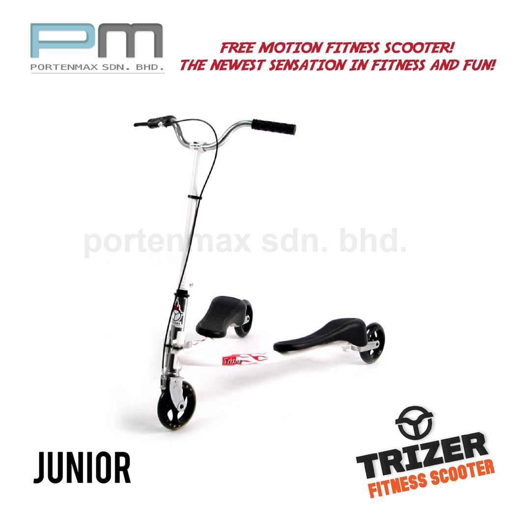 Three Wheeled Swing Scooter - Trizer Scooter Junior (COLOR TZJ88)