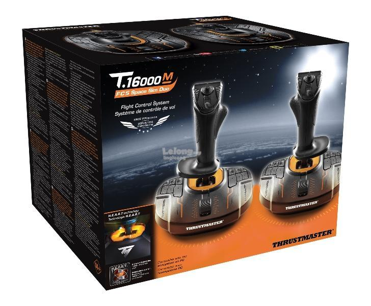 # THRUSTMASTER T 16000M Space Sim Duo Stick for PC #