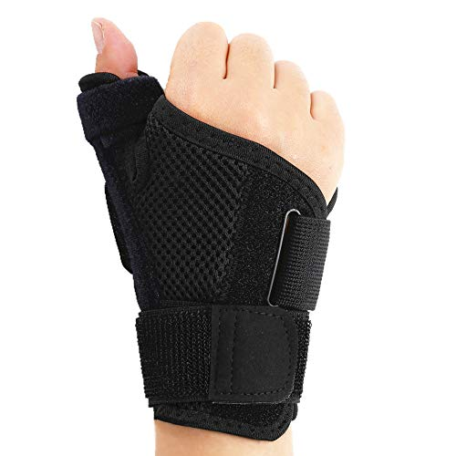 Thumb Splint with Wrist Support Brace-Thumb Brace for Carpal Tunnel or Tendoni