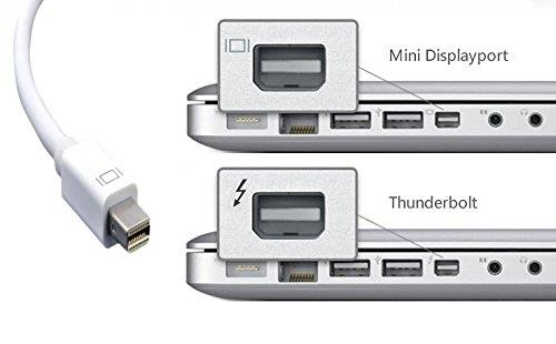 Thunderbolt Mini Displayport DP to VGA Adapter Cable Apple MacBook Pro  sc 1 st  Lelong.my & Thunderbolt Mini Displayport DP to (end 11/29/2018 3:15 PM)