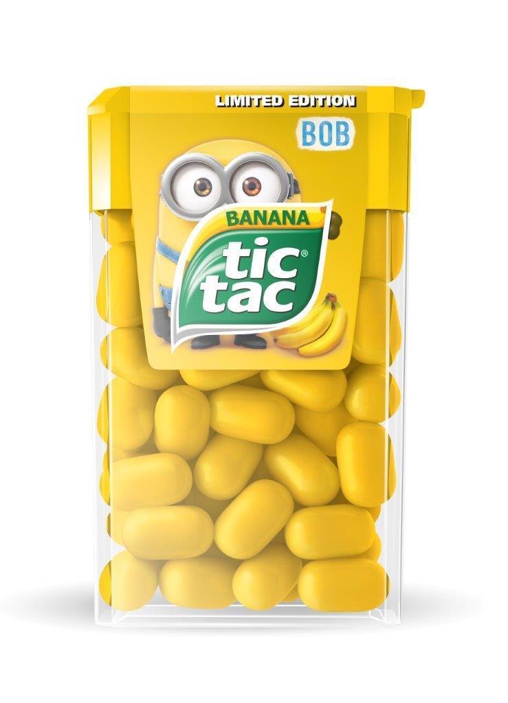 tic tac banana minions 24g x 5 end 10 21 2016 7 15 pm