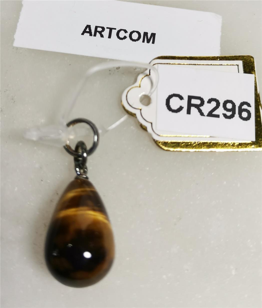 Tiger Eye Raindrop Shape Pendant (10*24mm)