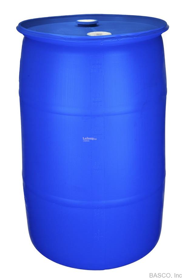 New Tigh Head Plastic Blue Drum - 220Liter