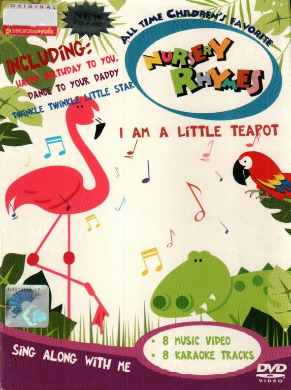 All Time Children's Favorite Nursery Rhymes I Am A Little Teapot Karao..