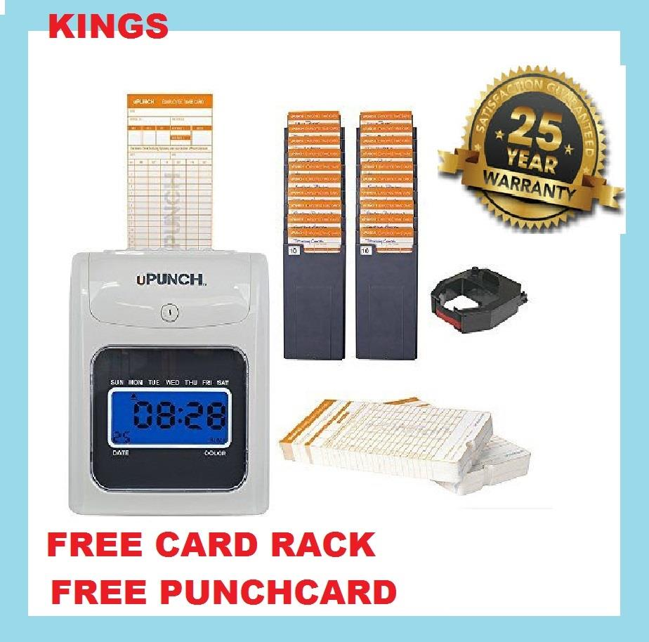 TIME RECORDER PUNCHCARD MACHINE (15 YEARS WARRANTY ) FULLSET