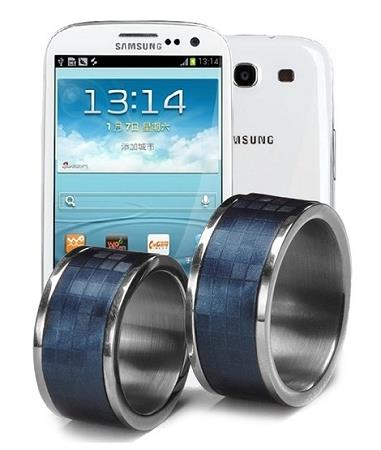TimeR Ring Waterproof Smart Ring for Android Phone NFC (TR-01).