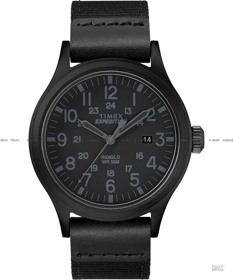 TIMEX TW4B14200 (M) Expedition Scout Date 24-hr fabric strap black