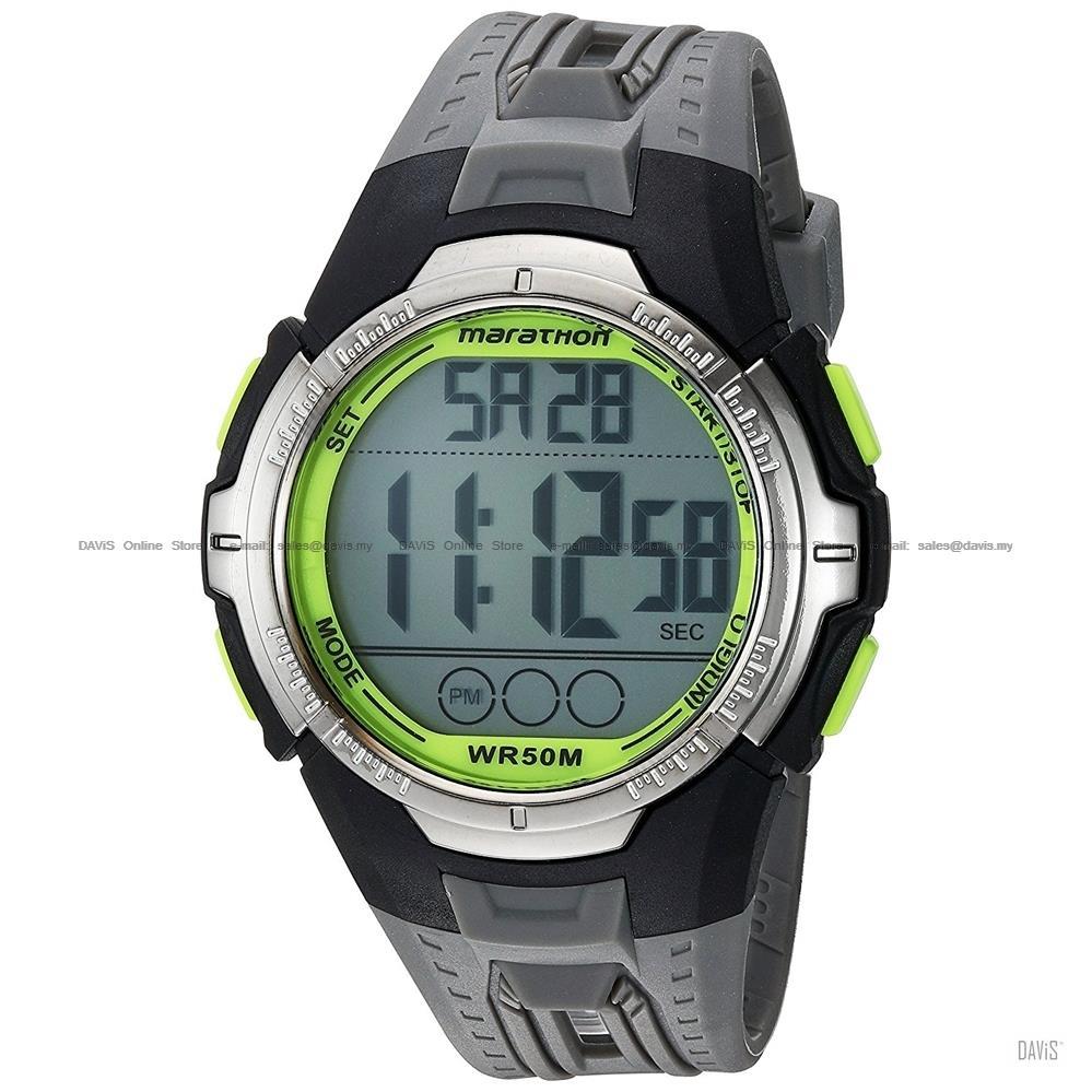 TIMEX TW5M06700 (M) Marathon Digital Watch resin strap grey 569c2ff167