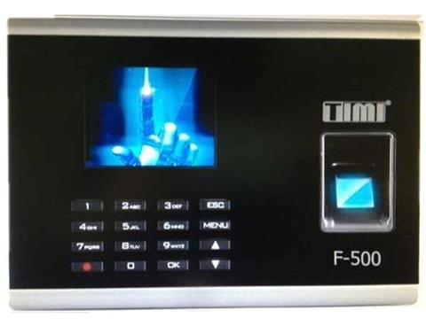 TIMI FINGERPRINT SUPPORT CARD ATTENDANCE SYSTEM (F-500)