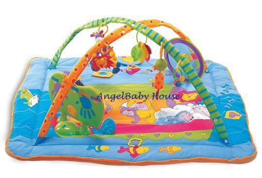 Tiny Love Gymini Total Playground Kick & Play Activity Play Gym Mat
