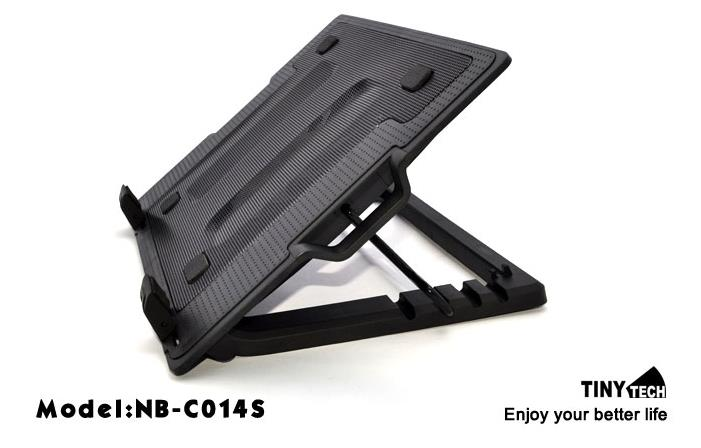 TINYTECH ADJUSTABLE HEIGHT NOTEBOOK COOLER PAD NB-C014S