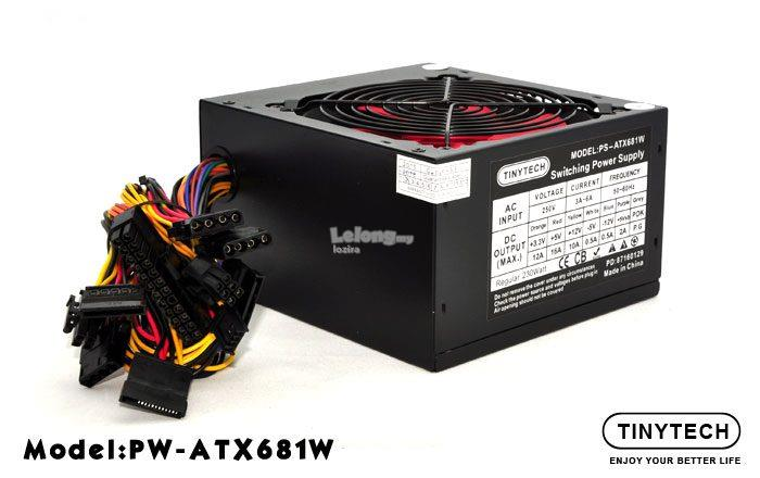 TINYTECH ATX-681W SWITCHING POWER SUP (end 2/2/2018 4:15 PM)
