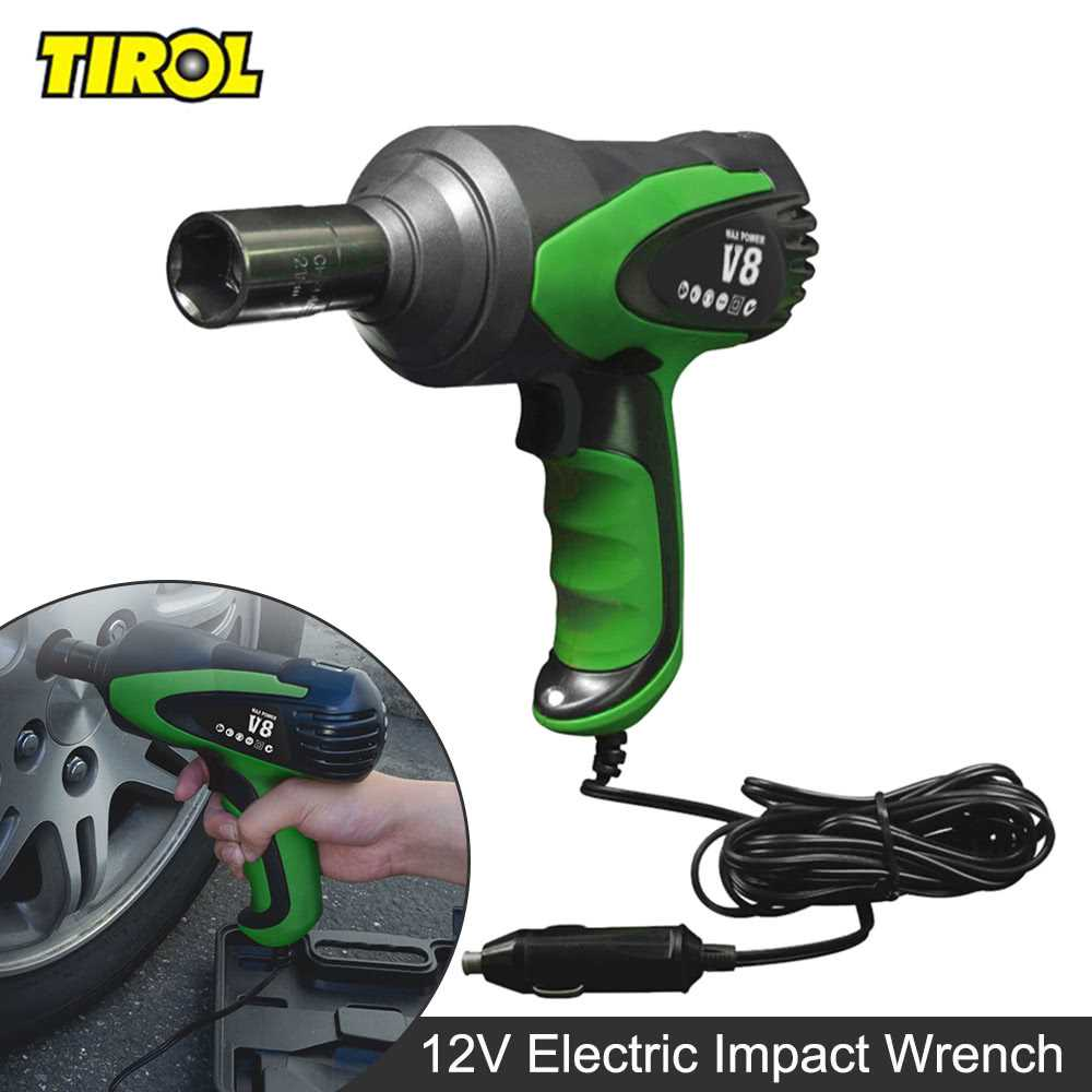 TIROL T20827 Electric Impact Wrench Car Tire Repair Tool Installation