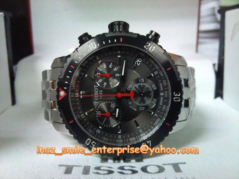 tissot prs 200 menu0027s black quartz sport watch