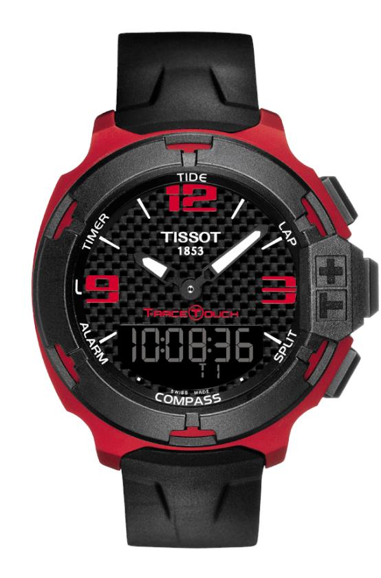 TISSOT T081.420.97.207.00 T-RACE TOUCH Aluminium black carbon arabic
