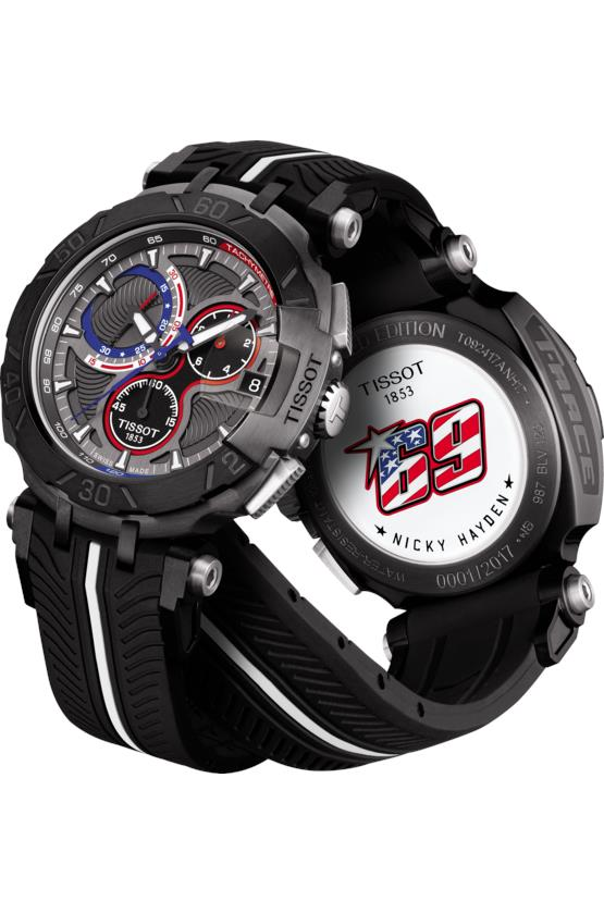 3e8f562374b TISSOT T092.417.37.061.01 T-RACE Nicky Hayden MotoGP 2017 anthraciteLE. ‹ ›