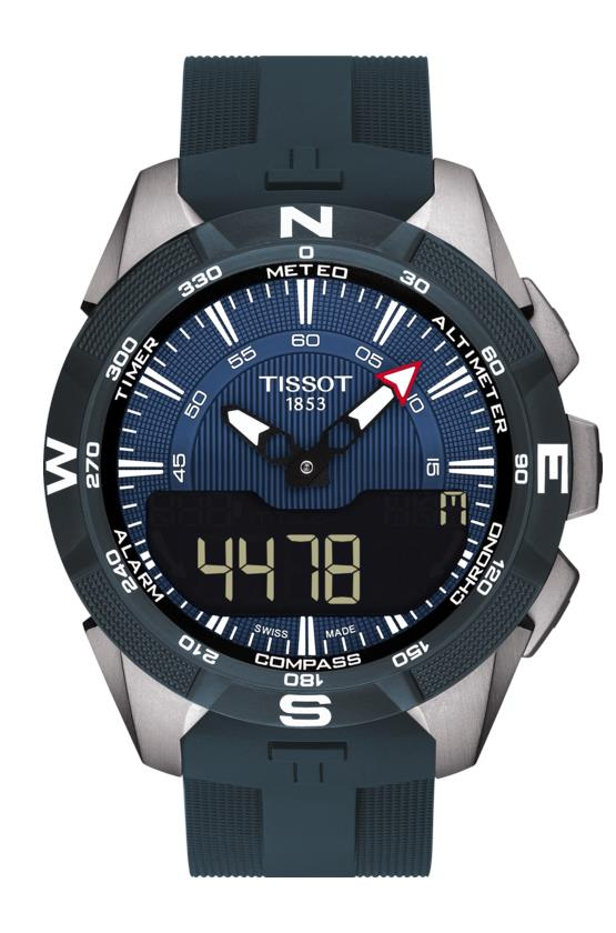 TISSOT T110.420.47.041.00 T-TOUCH Expert Solar II blue index