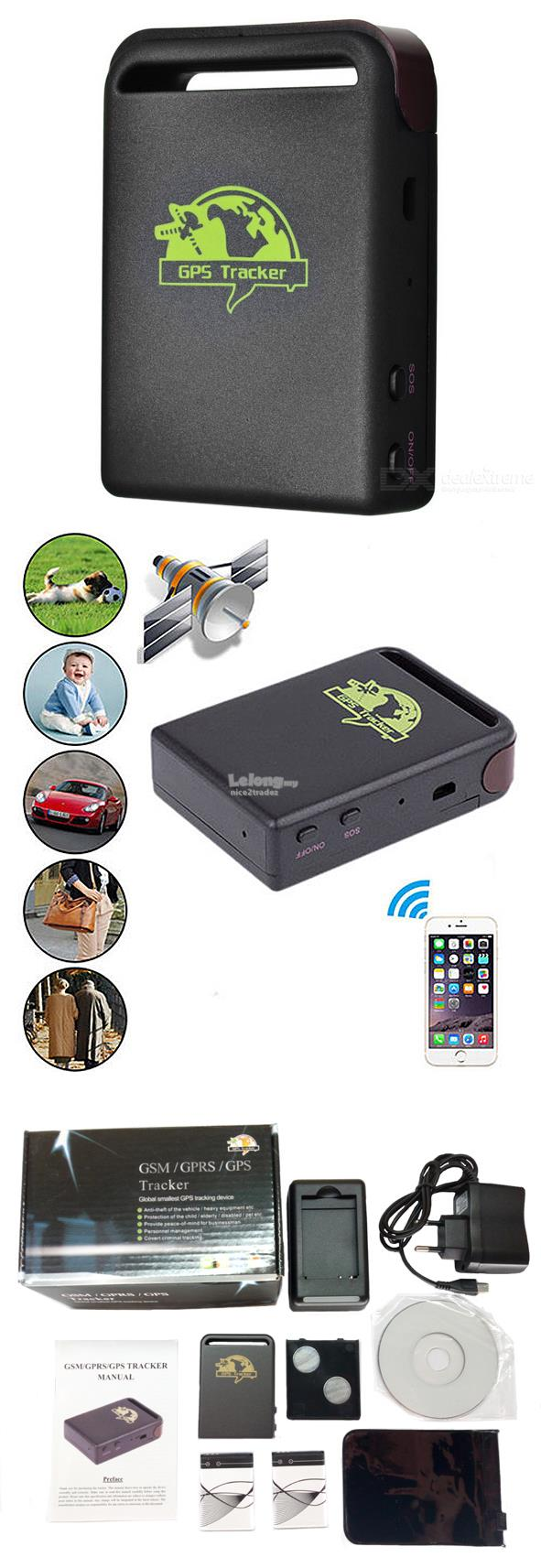 TK102 Mini GPS Tracker Real Time GPRS GPS