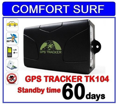 TK104 Real time GPS Tracker With Car Alarm Off Engine System Contena C