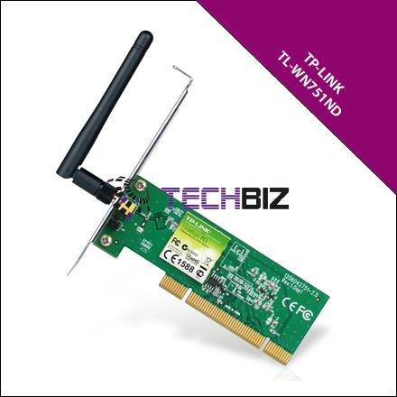 TL-WN751ND TP-LINK 150Mbps WIRELESS N PCI ADAPTER