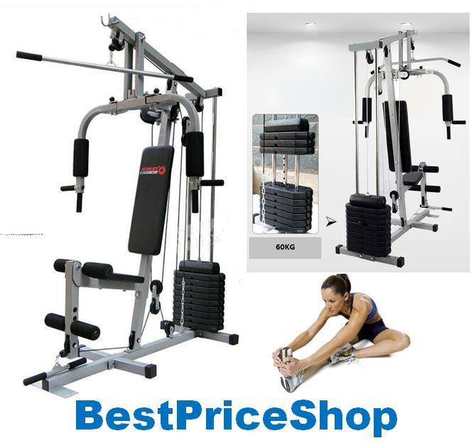 Tlst multi function home gym station fitness workout
