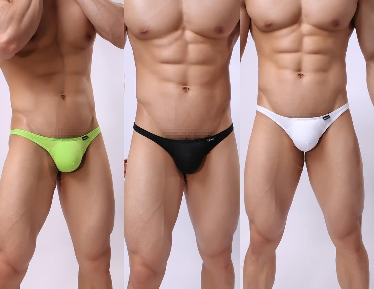 TM Men underwear with sponge look bigger thong z3229