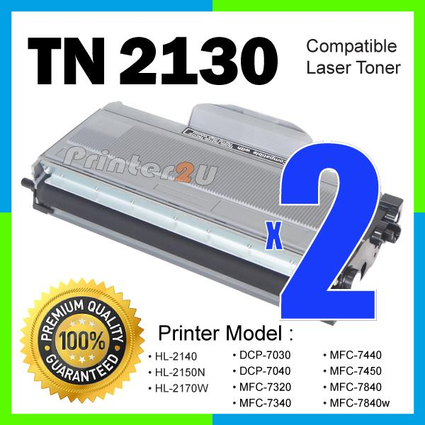 TN 2130 Compatible Brother HL 2150n/2170w/MFC7340/MFC7440/MFC7450