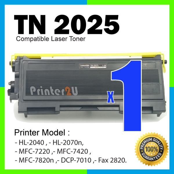 TN2025 Compatible Brother MFC 7220 7420 7820n HL 2040 2070n FAX 2820