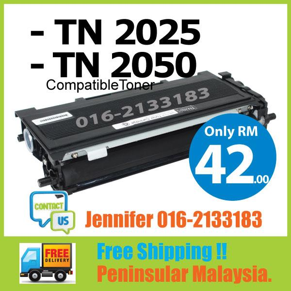MY TN2025/TN2050@Brother Compatible DCP 7010 7020 7025 FAX 2820 2910