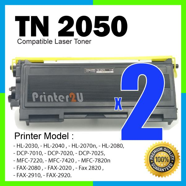 TN2050 Compatible Brother HL2030/HL2080/DCP7020/DCP7025/DCP-7020/7025