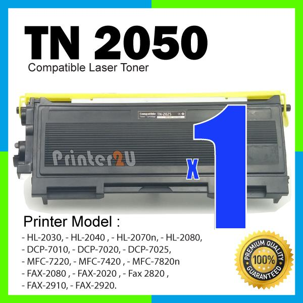 TN2050 Compatible Brother TN2050 HL 2030 2080 FAX-2080 2020 2910 2920
