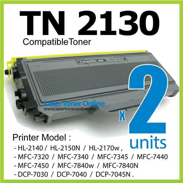 TN2130 Compatible-Brother MFC-7340 7440 7450 7480w 7840w 7860DN 7860dw