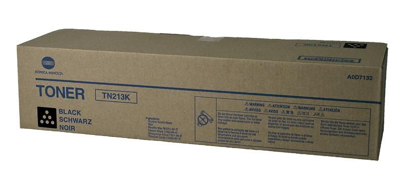 TN213K Konica Minolta Black Toner Cartridge for Bizhub C203 C253