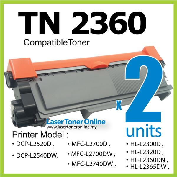 TN2360 Compatible Brother DCPL2520D DCPL2540DW DCP L2520D L2540dw 2380