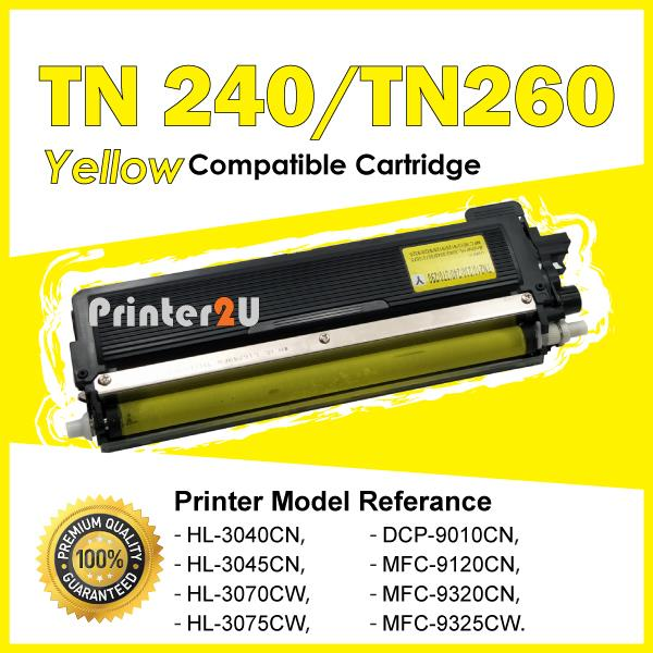 TN240 Compatible Brother DCP-9010CN HL 3040CN 3045CN 3070CW 3075CW YE