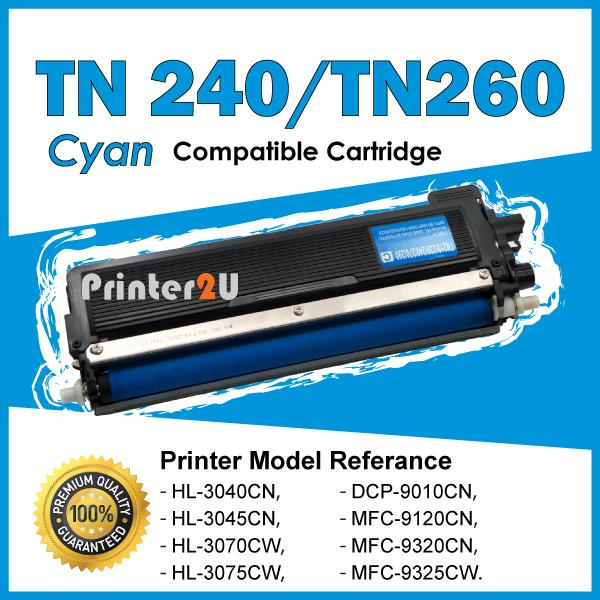 TN240 Compatible Brother DCP9010CN HL 3040 3045 3070 3075 HL3040 Cyan