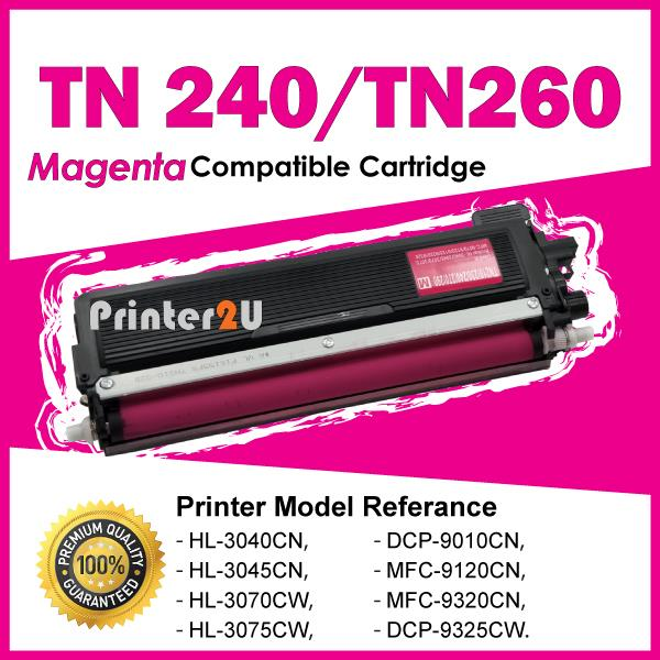 TN240 Compatible Brother DCP9010CN HL 3045 3070 3075 HL3040 Magenta