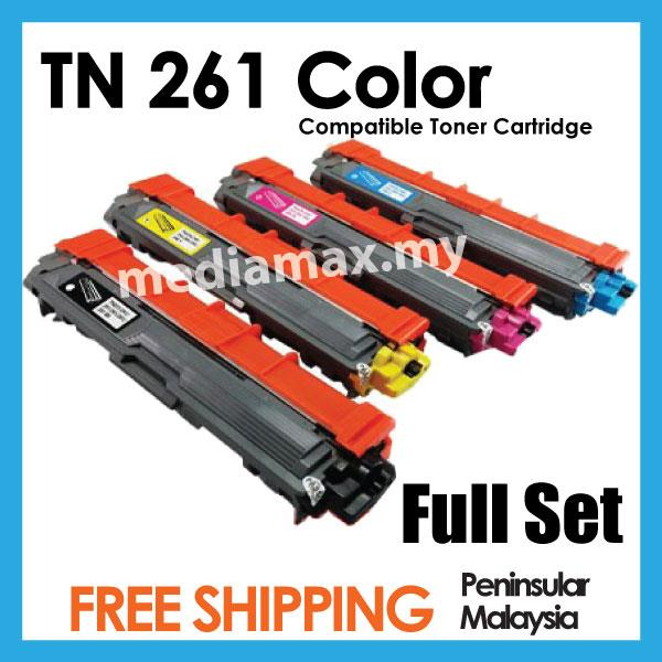 TN261 Brother Compatible HL3150CDN HL3170CDW MFC 9140 9330 Black/Color
