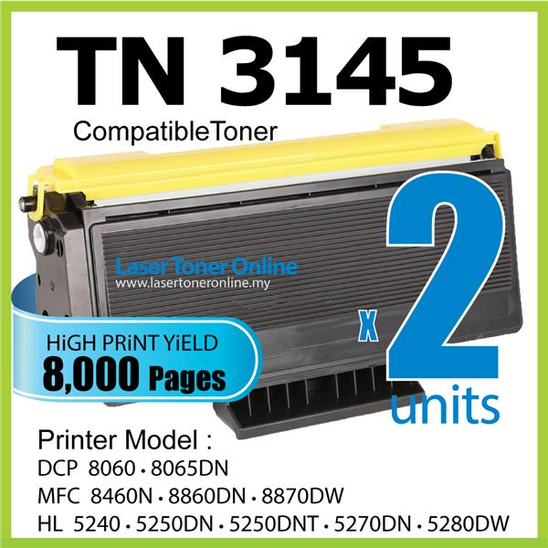 TN3145 Compatible Brother DCP 8060 8065DN MFC 8460N 8860DN 8870dw 3185