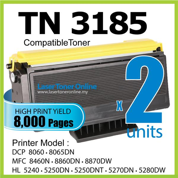 TN3185 Compatible Brother DCP 8060 8065DN MFC 8460N 8860DN 8870dw 3185
