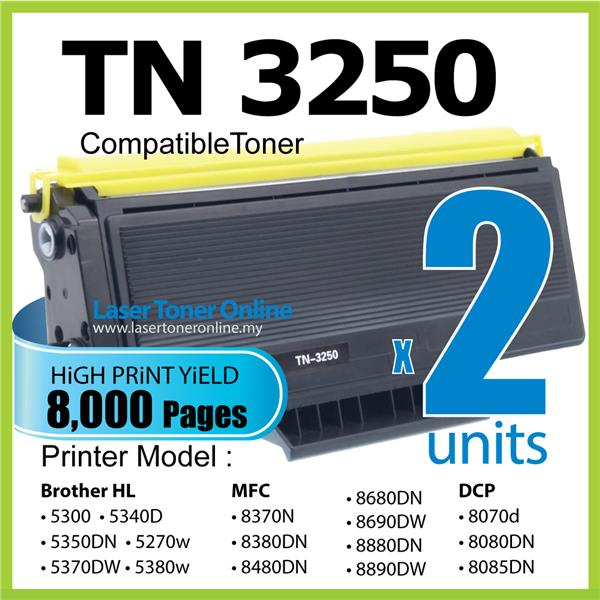 TN3250 Compatible Brother DCP 8070D 8080DN 8085DN MFC8370 MFC 8380dn