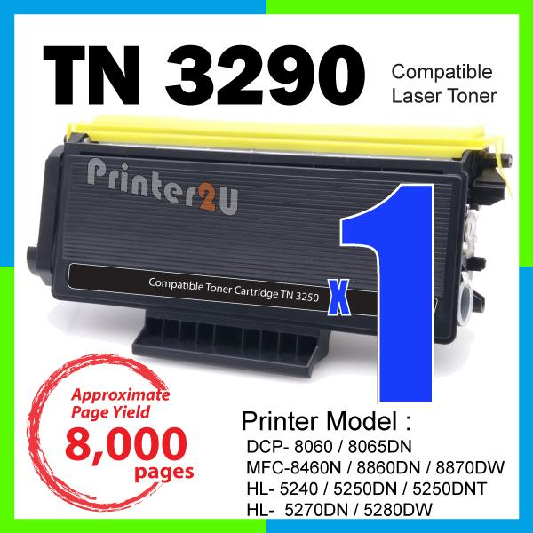 TN3290 TN 3290 Compatible Brother HL 5240 5250DN 5250DNT 5270DN 5280DW