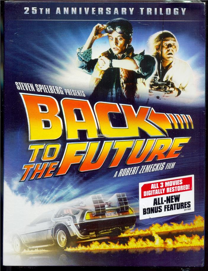 Back To The Future 25TH Anniversary Trilogy - New DVD Box Set