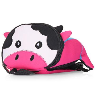 7f52f90fb8 TOCHANG Anti-lost Children School Bag 3D Cartoon Backpack (HOT PINK)