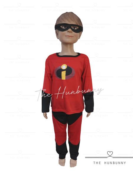 Toddler Boys/Girls Incredibles Superhero Halloween Party Costume