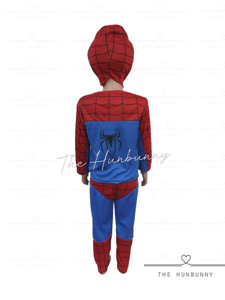 Toddler Boys Spiderman Shining Superhero Halloween Party Costume