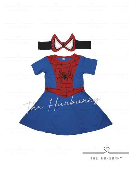 Toddler Girls Spider Girl Superhero Halloween Party Costume