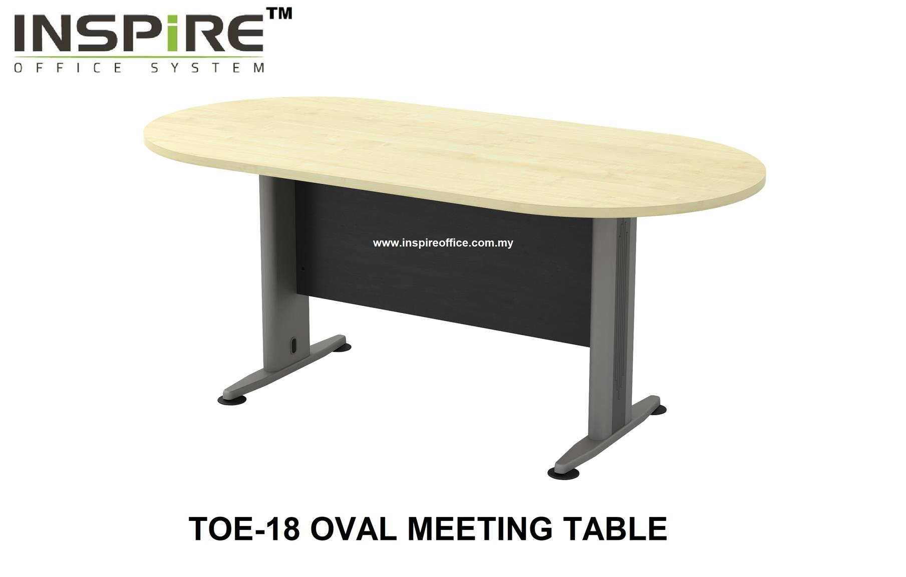 TOE-18 OVAL MEETING TABLE