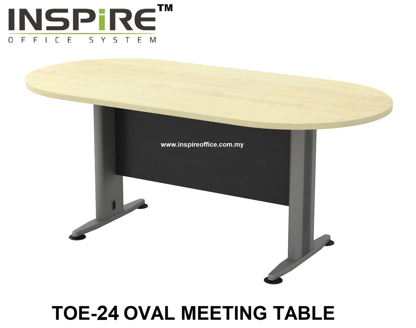 TOE-24 OVAL MEETING TABLE