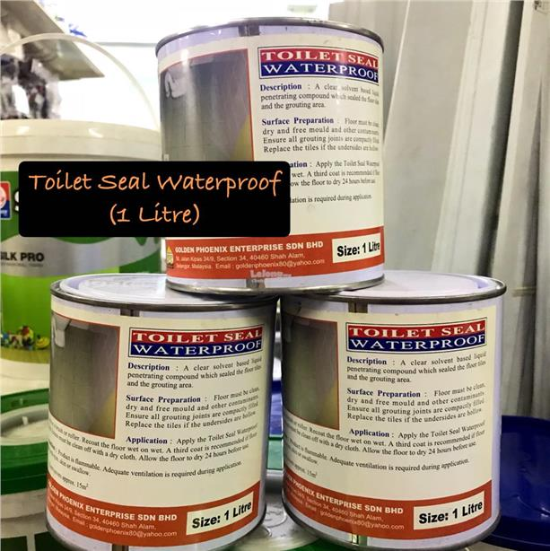 Toilet Seal Waterproof ( 1 Ltr )